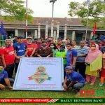রাজারহাটে বঙ্গবন্ধু গোল্ডকাপ ফুটবল টুর্নামেন্ট অনুর্ধ্ব-১৭'র শুভ উদ্বোধন