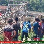 ডোমারে পাইলিং টাওয়ার ভেঙ্গে তিন শ্রমিক আহত