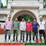 জিয়াউর রহমানের মৃত্যু বার্ষিকী উপলক্ষে ঢাকা কলেজ ক্যাম্পাসে ছাত্রদলের বৃক্ষরোপন