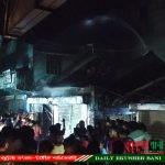 কুমিল্লার চৌদ্দগ্রামে ভয়াবহ অগ্নিকান্ডে ৪টি দোকান পুড়ে ছাই, প্রায় ১ কোটি টাকার ক্ষতি