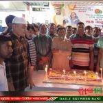 ঝিনাইদহে জননেত্রী শেখ হাসিনার ৭৫ তম জন্মদিন পালন